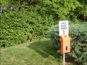 Pet Rest Area